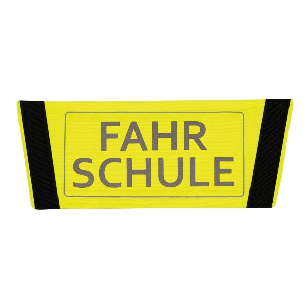"""Kletteinsatz für Air Vest II reflektierender Druck """"Fahrschule"""""""