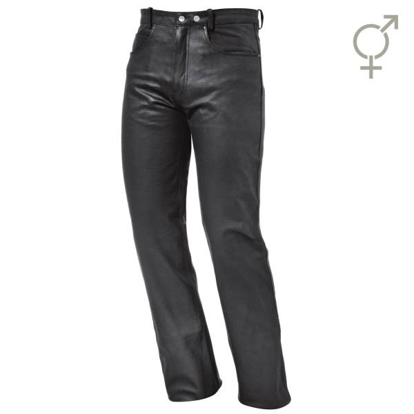 Cooper Leder-Jeans