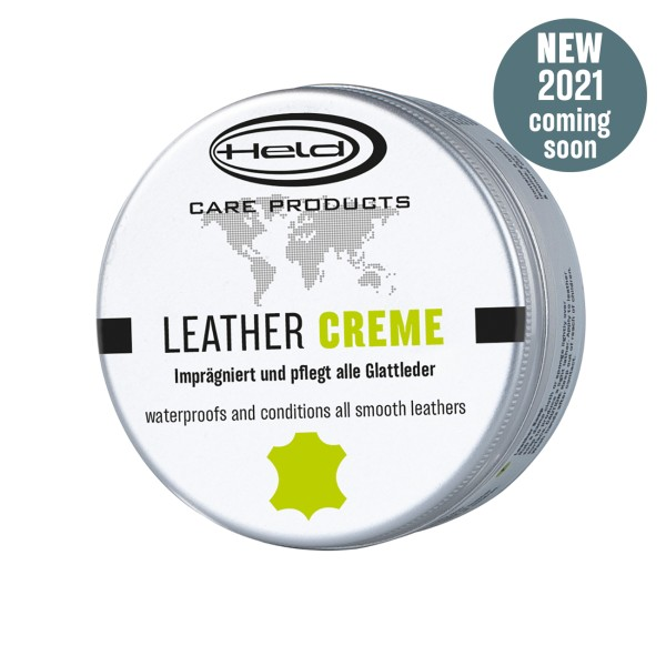 Leather creme tin